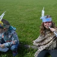 Indiáni ze školní družiny - Den dětí